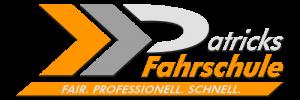 """das neue Logo der Fahrschule """"Patricks Fahrschule"""""""